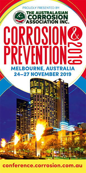 Now easier than ever to save on the Corrosion Prevention 2019 conference